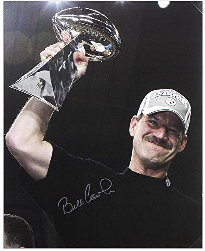 Pittsburgh Steelers Bill Cowher Autographed 16″ x 20″ Photo – Fanatics Authentic Certified – Autographed NFL Photos
