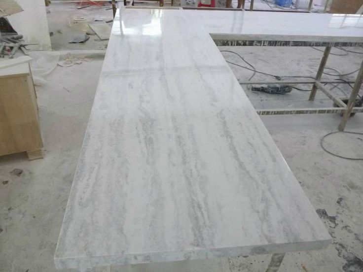 Best Synthetic Pure White Quartz Stone Countertops Cheap Buy 400 x 300