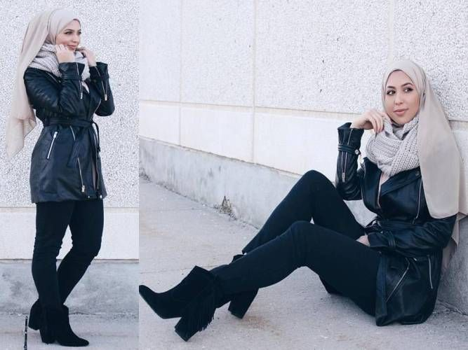 How to wear ankle boot with hijab