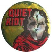 Quiet Riot - 'Metal Health' Prismatic Button Badge