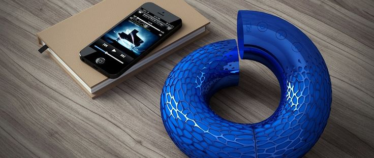 AeroTwist, l'enceinte nomade Bluetooth