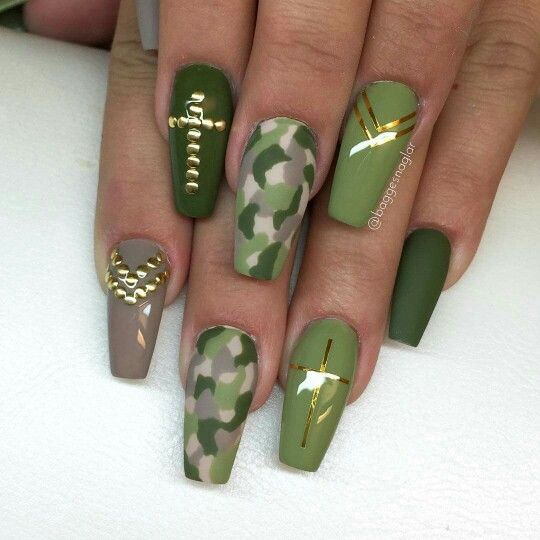 Nail Designs For Military