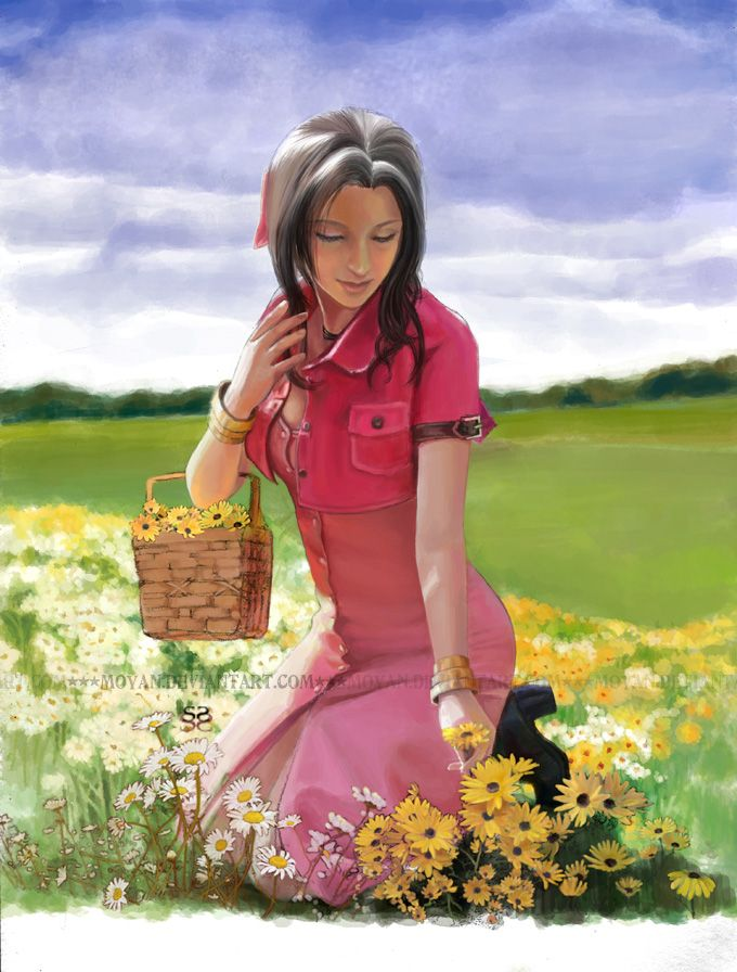 Aerith Gainsborough: Fantasy Vii, Posts, Finals Fantasy, Vii Addiction