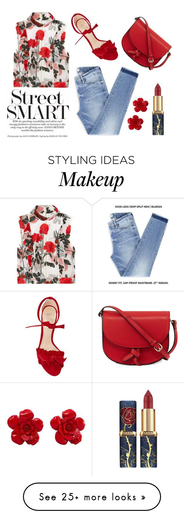 """""""Untitled #1193"""" by diana-kulieva on Polyvore featuring Ganni, Alexandre Birman, KC Jagger and Chanel"""