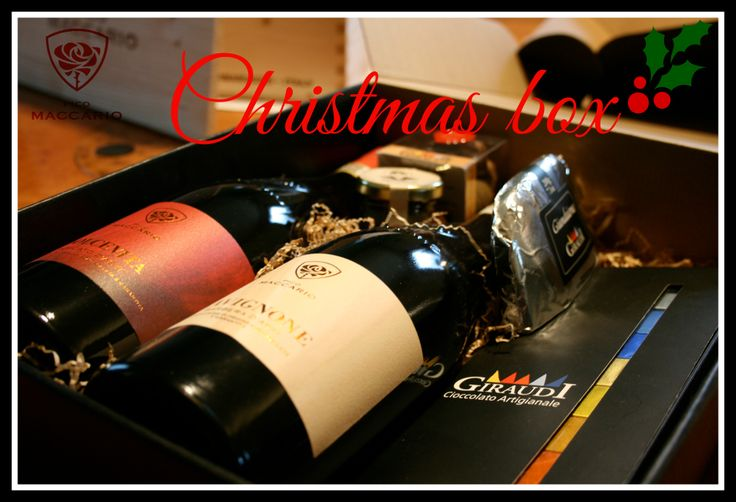 #PicoMAccario #Wine #Chocolate #Christmasbox