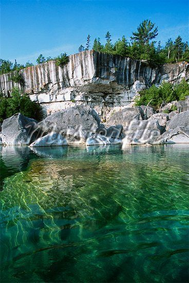 Georgian Bay National Park, Near Tobermory, Ontario, Canada