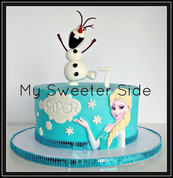 105 best Frozen cakes images on Pinterest Frozen party Conch