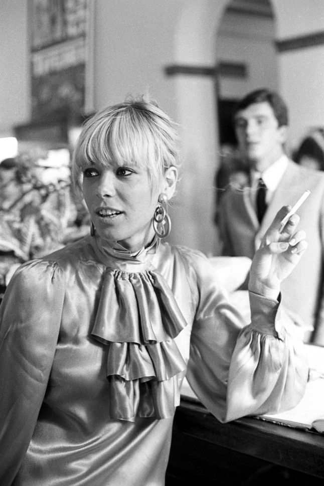 Anita Pallenberg ||    The biggest style influence on the Rolling Stones, archetypal rock chick Anita Pallenberg also just happened to have flings with half the band members. Her quintessential rock chick look of thigh-high boots, fringing and skin-tight prints still serves as a source of inspiration for the band and all our wardrobes.