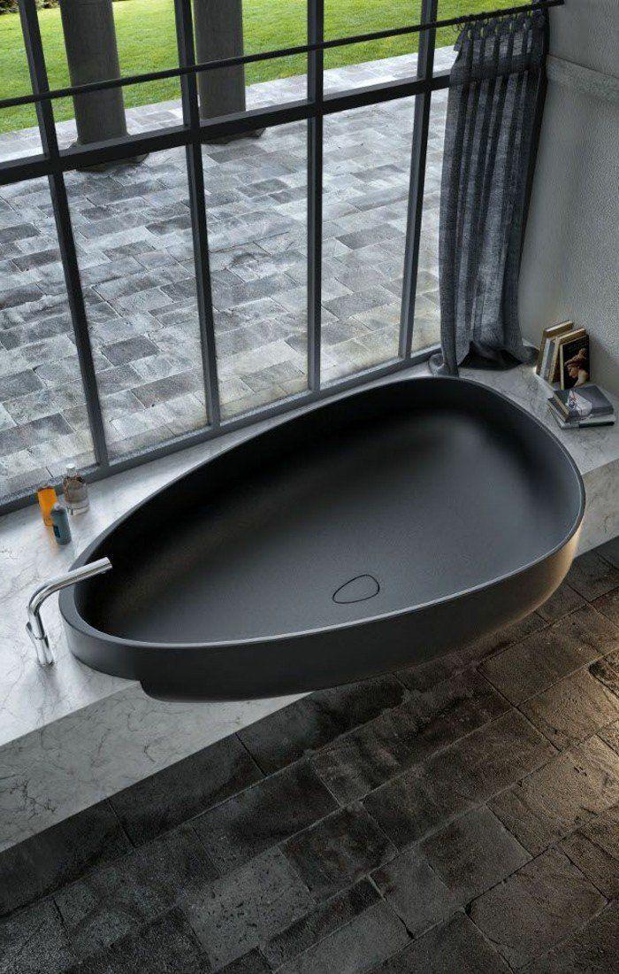 Belle baignoire ovale baignoires design magnifique