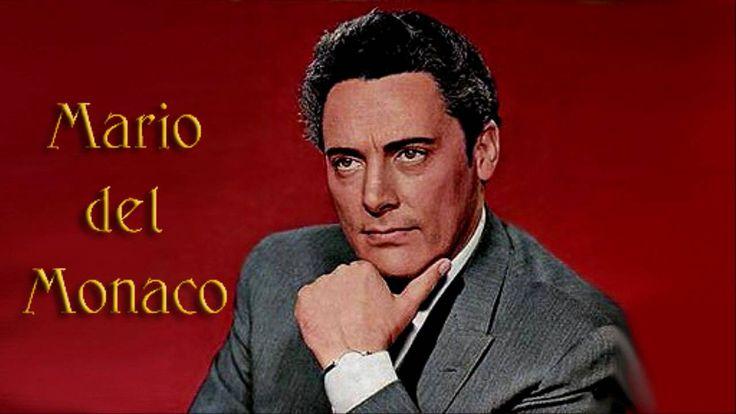 """MARIO DEL MONACO SINGS  """" `NA SERA `E MAGGIO """""""