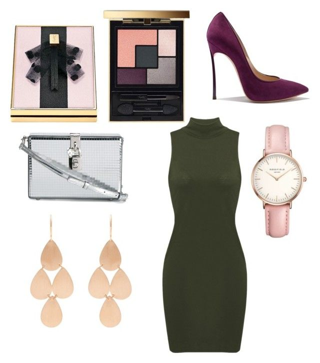 shades of color ysl by chiara30stm on Polyvore featuring polyvore fashion style Dolce&Gabbana Irene Neuwirth Topshop Yves Saint Laurent clothing