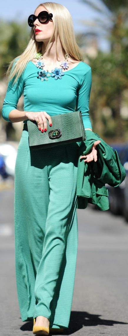 Palazzo Pants Street Style  by Personal Style