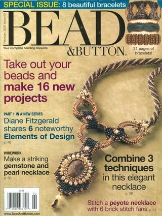 126 bead&button 2015 04 by Tanaba - issuu