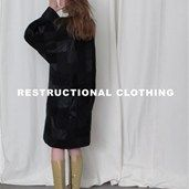 Recycled couture by Restructional Clothing.