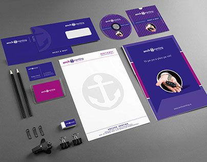 """Check out new work on my @Behance portfolio: """"AnchoRenting Branding"""" http://on.be.net/1CNht5B"""