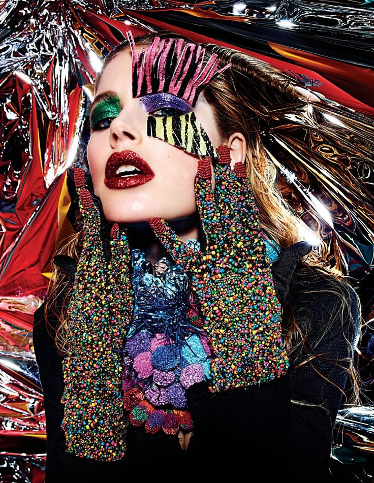 rave new world: nadja bender, aymeline valade, doutzen kroes and caroline brasch nielsen by mario sorrenti for w march 2013   visual optimism; fashion editorials, shows, campaigns & more!