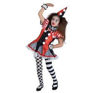 Fancy Harlequin στολή Αρλεκίνου με φούστα για κορίτσια