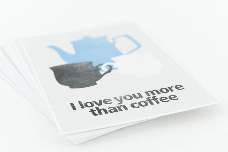 Elsje grafisch ontwerp | Koffie kaarten
