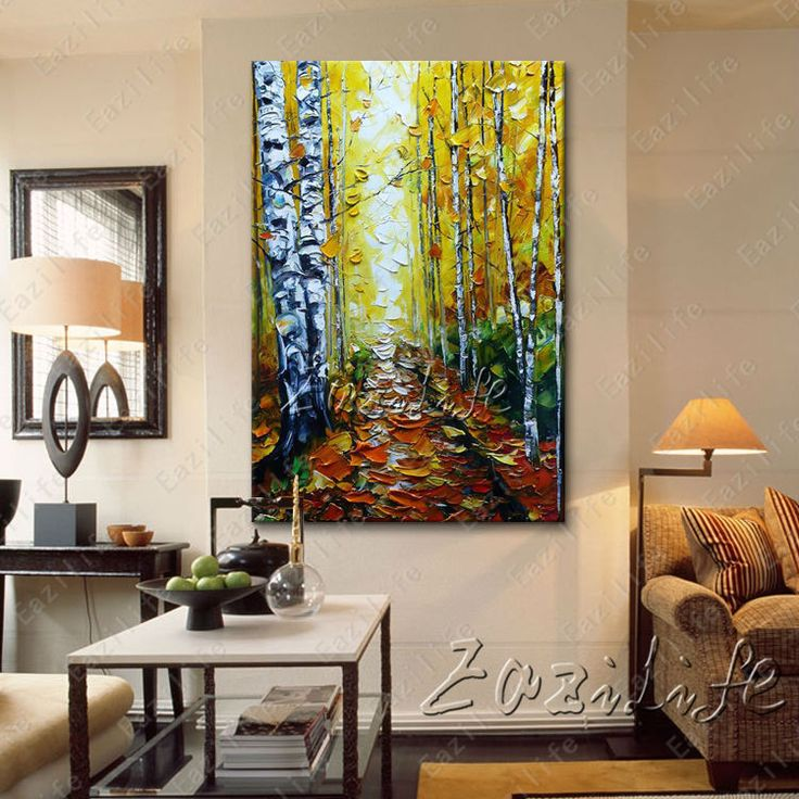 21 best Hand painted Canvas Oil painting Wall Pictures for Living