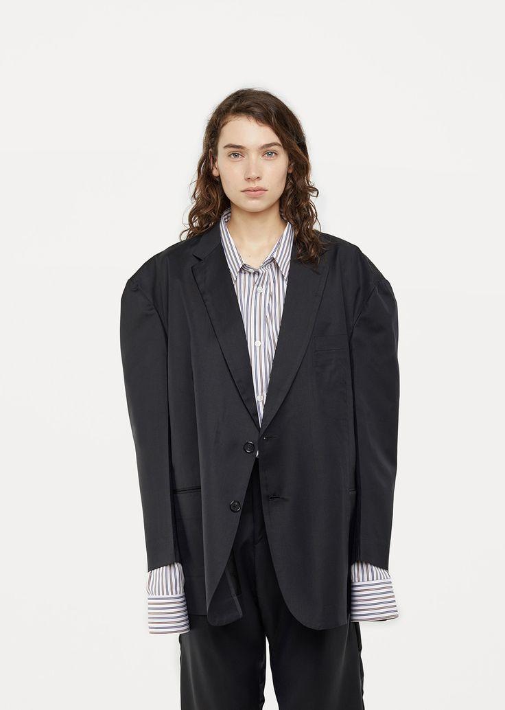 X Brioni Single Breasted Jacket