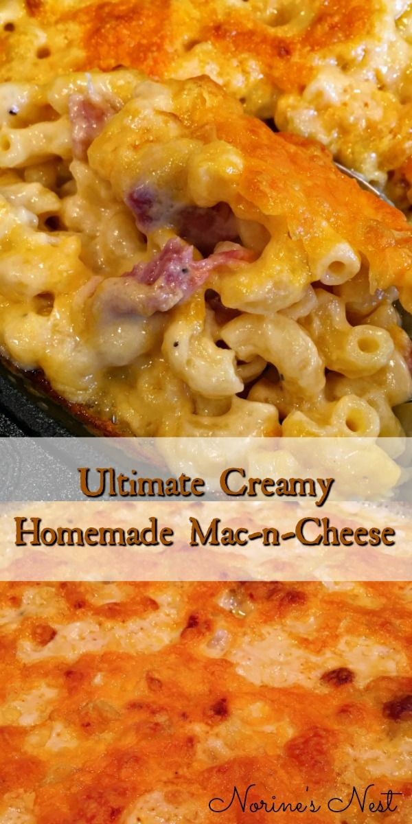 Macaroni And Cheese With Bacon Recipe Food Recipes Southern
