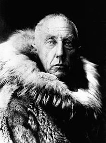 Roald Amundsen, Arctic Explorer, 1928