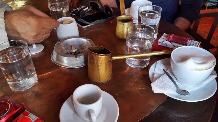 Καφενεδακι στον Κισσο