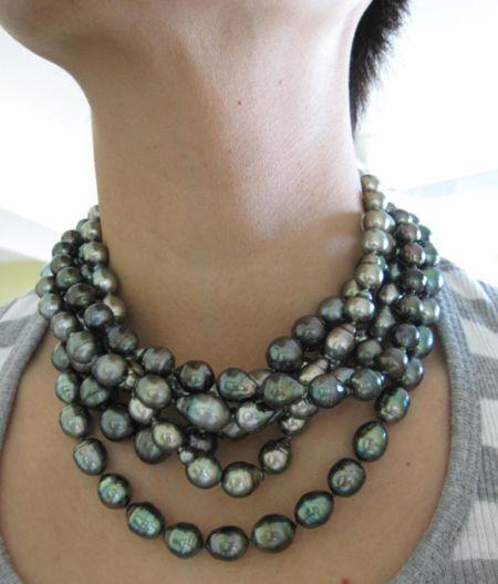 tahitian pearlsl...are always beautiful...single or multi-layered