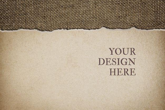 Paper mockup design background. Download thousands…