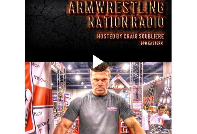 John Brzenk on Arm Wrestling Nation Radio (AWNR)