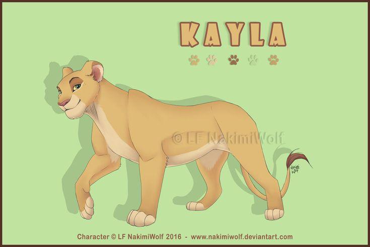 Kayla Lion Princess by NakimiWolf.deviantart.com on @DeviantArt