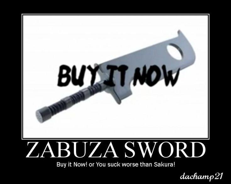 Naruto Abridged Posters Sword by dachamp21X.deviantart.com