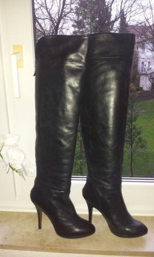 edle ZARA Overknee Stiefel, Gr. 38,39, echt Leder, schwarz, High Heels, Absatz | Kleidung & Accessoires, Damenschuhe, Stiefel & Stiefeletten | eBay!
