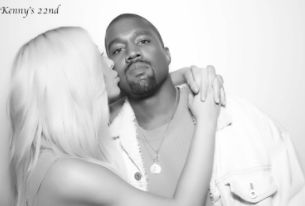FOW 24 NEWS: Kim K Cosies Up To Hubby, Kanye West In New Photos...