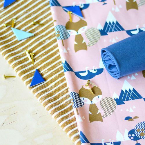 Loopback Sweatshirting, Nutmeg - Vanilla (WIDE)   NOSH Autumn & Winter 2016 Fabric Collection is now available at en.nosh.fi   NOSH syksyn 2016 uutuuskankaat saatavilla verkosta nosh.fi