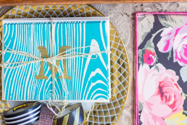 feminine eclectic desk reveal || Jeweledinteriors, desk, office, space, peony, peonies, black and white, stripe, reveal, ideas, brass, drawers, handles, books, paper, wrapped, marble, lamp, task, hobby lobby, rug, chair, cut, velvet, emerald, DIY, art