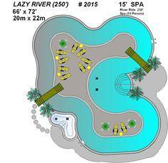 backyard lazy river cost - Google Search