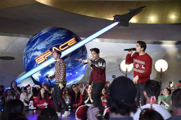 """DISNEY CHANNEL – Talent from Disney Channel were at the Walt Disney World Resort in Orlando, Florida during the taping for """"Disney Parks Presents: A Descendants Magical Holiday Celebration"""" that will air Friday, November 25 on Disney Channel. (Disney Channel/Mark Ashman) FOREVER IN YOUR MIND"""