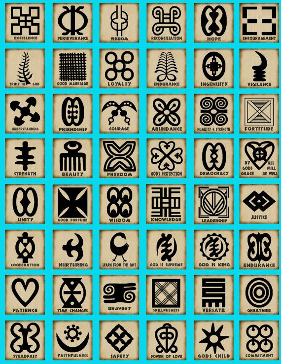African symbols known as adinkra are ubiquitous in Ghana, a beautiful West African country on the Atlantic, situated between Cote d'Ivoire and Togo. On cloth and walls, in pottery and logos, these Asante tribe symbols can be found everywhere.