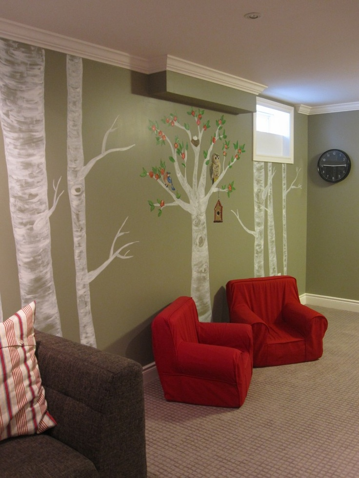 Best 20 birch tree mural ideas on pinterest birch tree for Diy birch tree mural