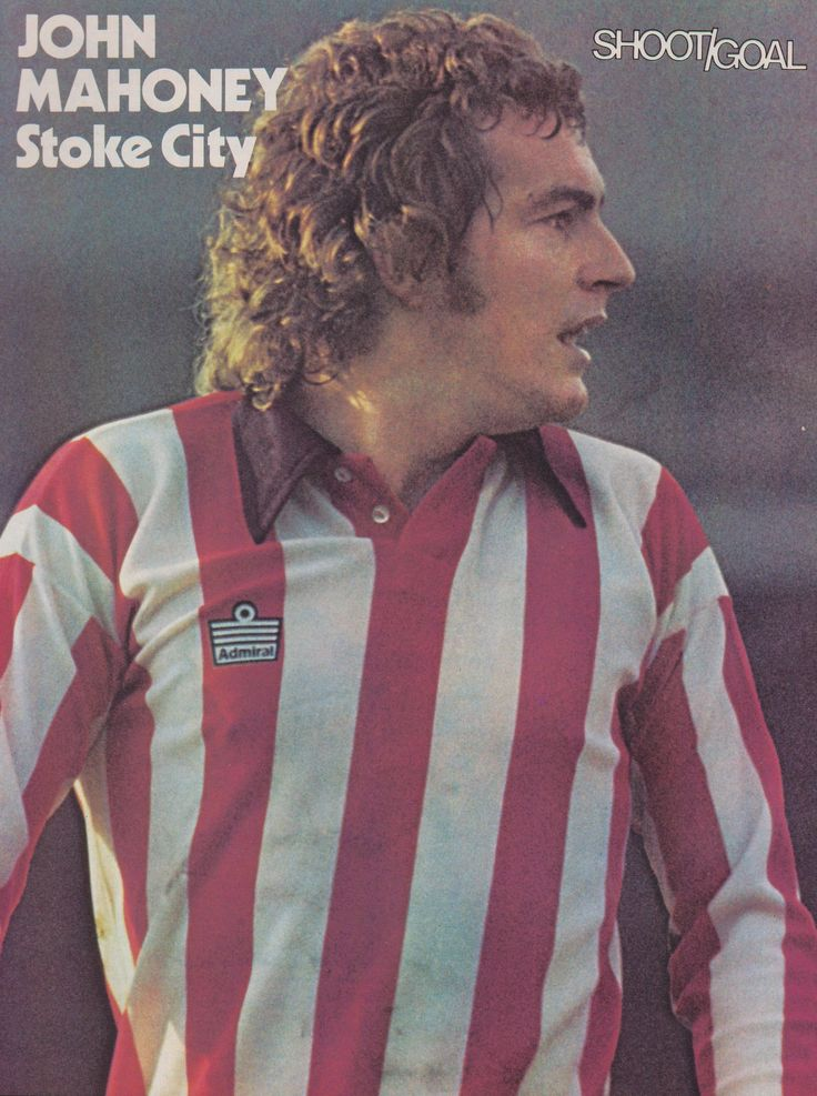 John Mahoney Stoke City 1975