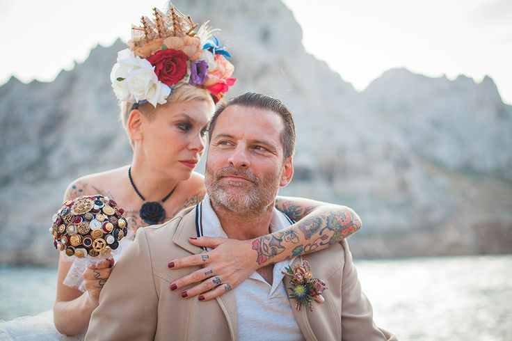 Nautical Wedding Inspiration #bridal #nautical #fascinator #ship #wedding #hat #headband #vintage #headpiece #headdress