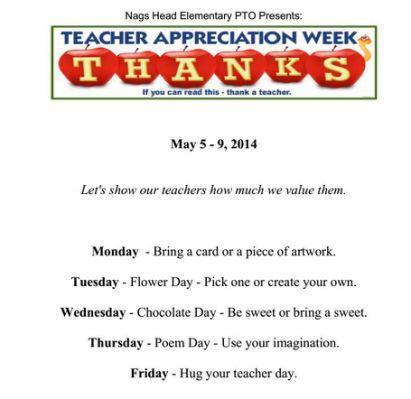 teacher schedule