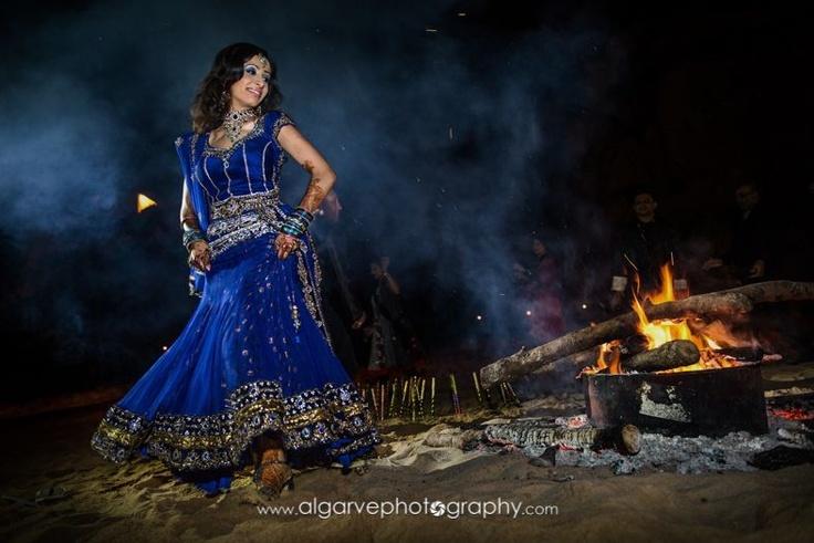 Another beautiful moment of an indian wedding at VILA VITA Parc.