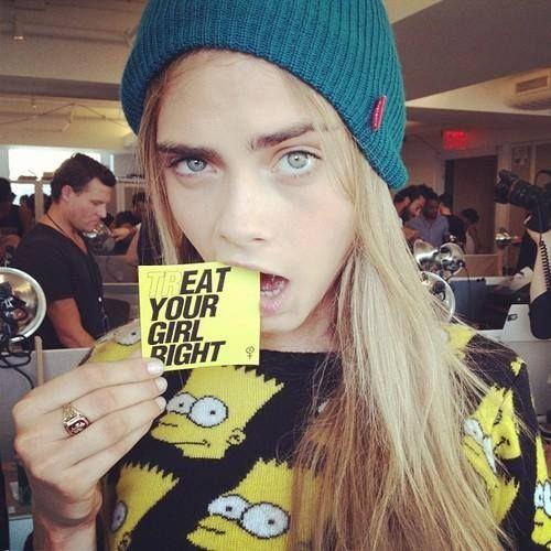 Cara szerint…  #fashionfave #fashion #caradelevingne #delevingne #model #quotes #fashionquote