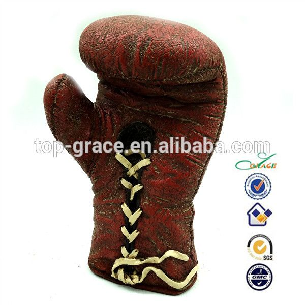 Polyresin antique decoration collection baseball/USA football sport glove souvenir #baseball, #Decorations