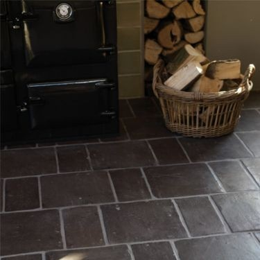Black Terracotta Floor Tiles Flooring Pinterest Best
