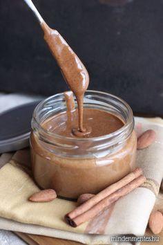 Fahéjas pörkölt mandulavaj steviával #cukormentes #gluténmentes mindenmentes.hu