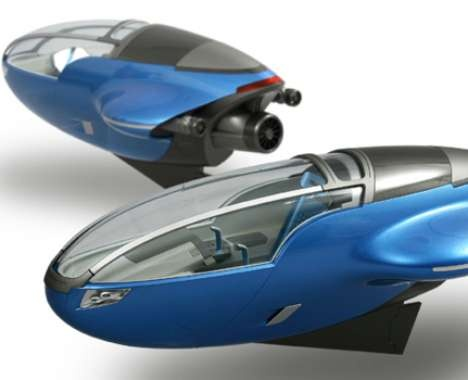 Aqua Compact Watercraft is a personal submarine