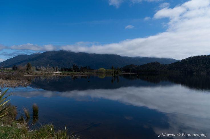 Lake Poerua, West Coast of South Island.